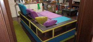 наши работы - перетяжка углового дивана