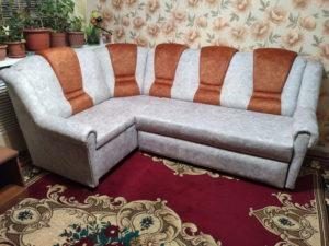 наши работы - перетяжка дивана
