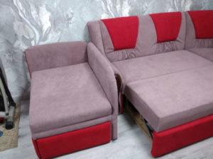 наши работы - перетяжка диванов